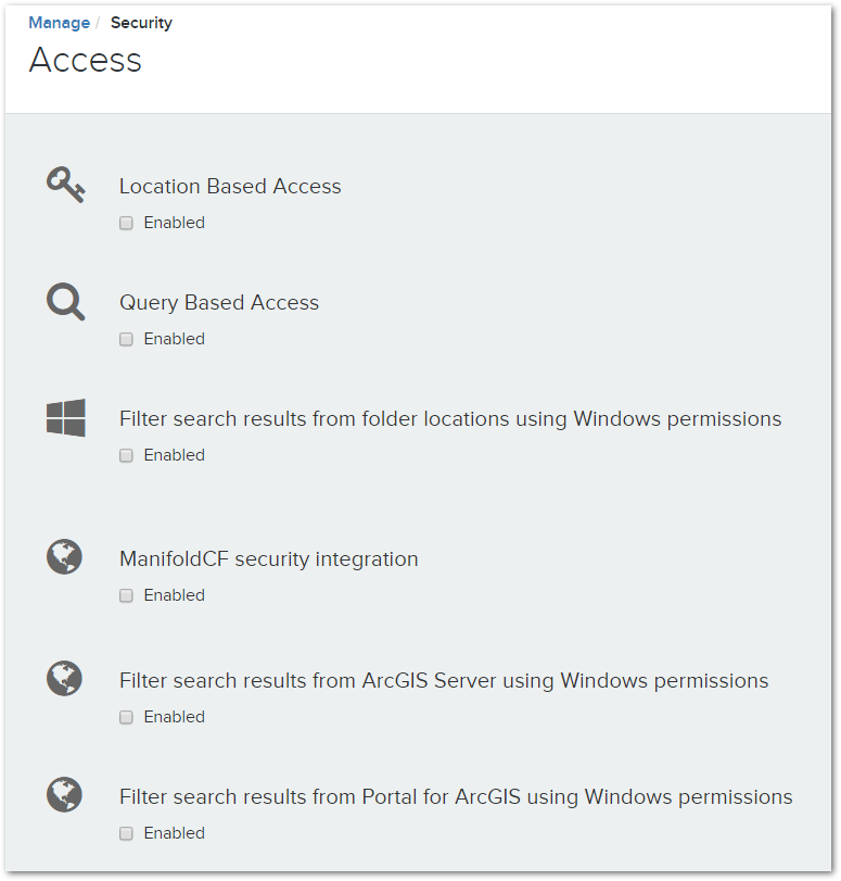 Access Restrictions – Voyager Search Support