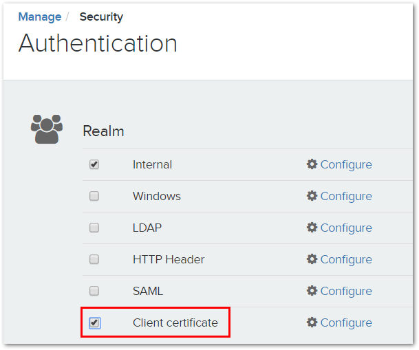 Client Certificate Authentication – Voyager Search Support